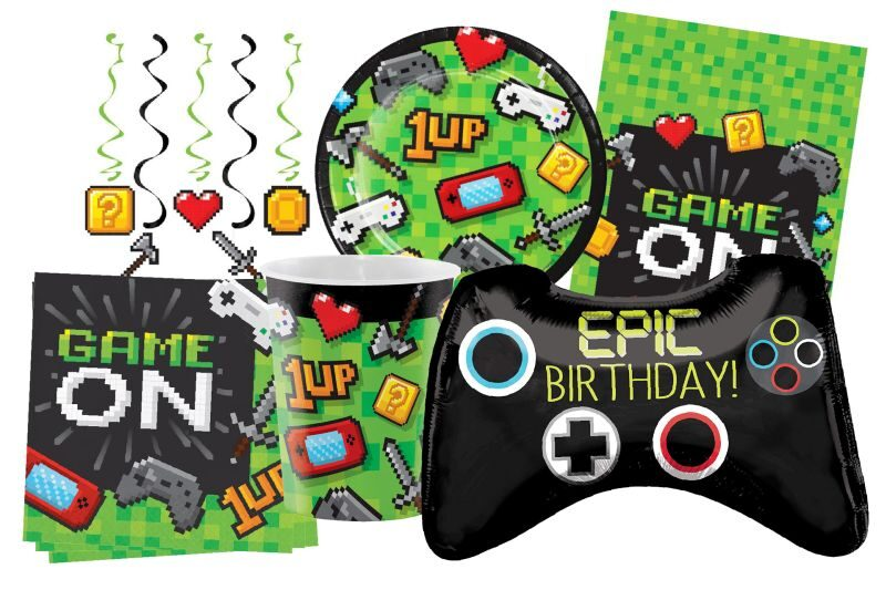 Boy's Birthday Party Supplies